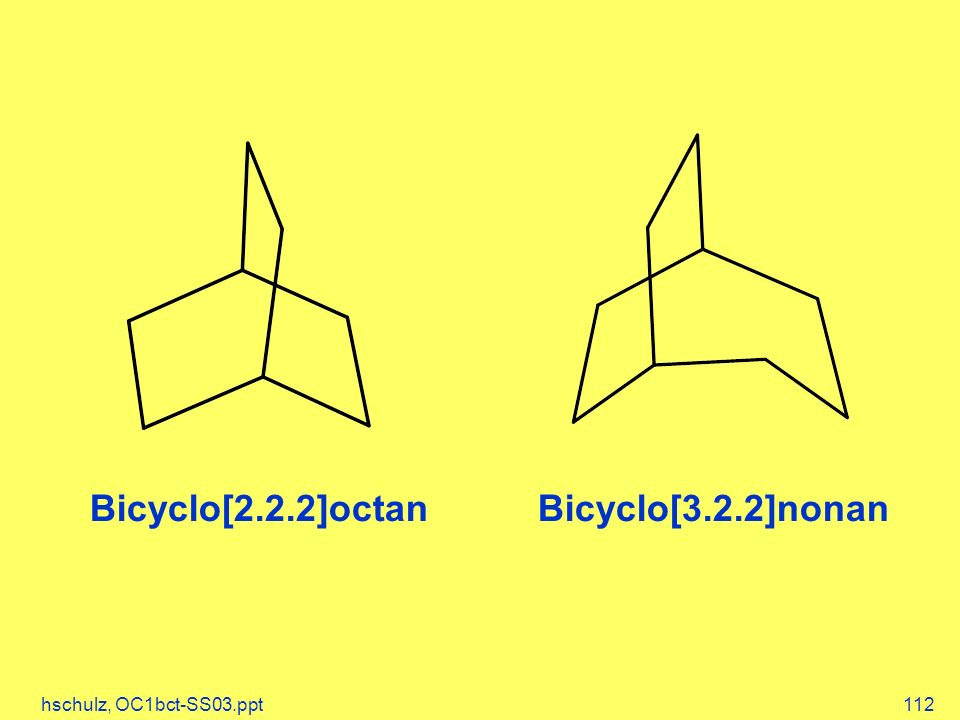 Bicyclo[2.2.2]octan Bicyclo[3.2.2]nonan hschulz, OC1bct-SS03.ppt